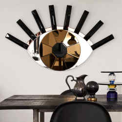 Reflections Copenhagen Eye of the Tiger mirror, from £795