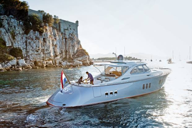 The Zeelander Z55, from €2.245m, has Volvo IPS pod-drive propulsion and can reach speeds of over 40 knots