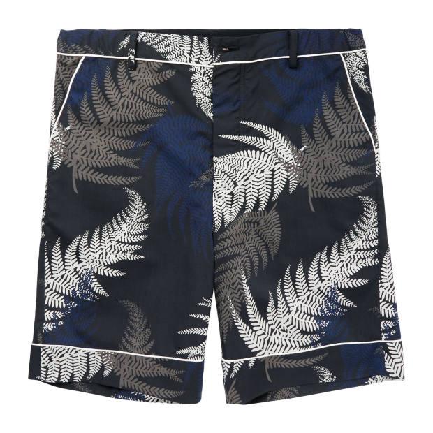Sacai polyester shorts, £315