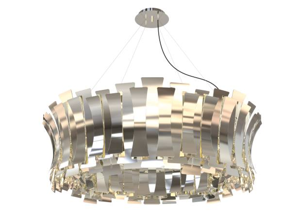 DelightFull brass Etta pendant light, €9,770