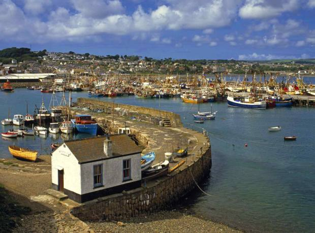 Jelberts is tucked away in the Cornish fishing village of Newlyn