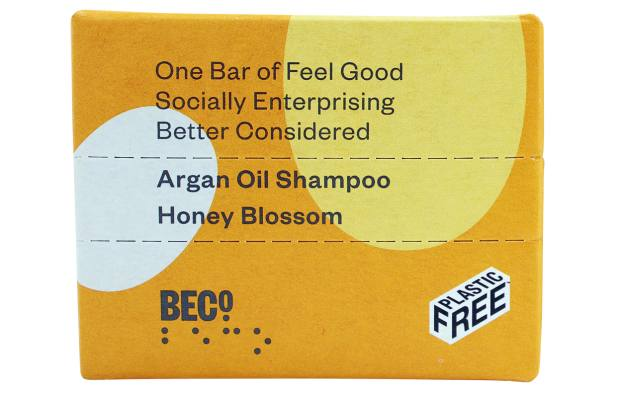Beco Argan Oil Shampoo Bar, £4, from Waitrose