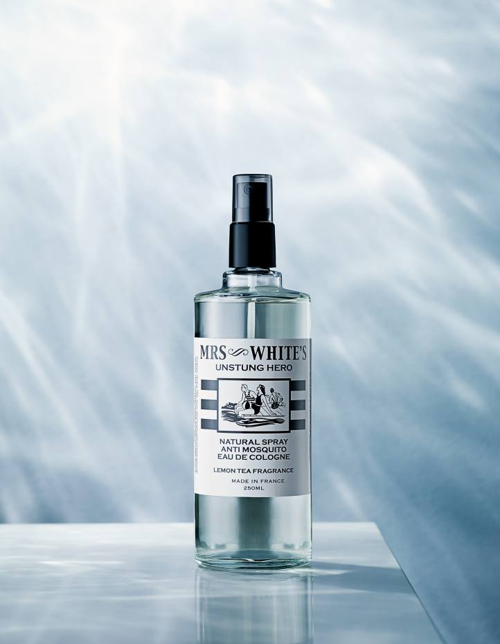 Mrs White's Unstung Hero insect repellent, £20 for 250ml