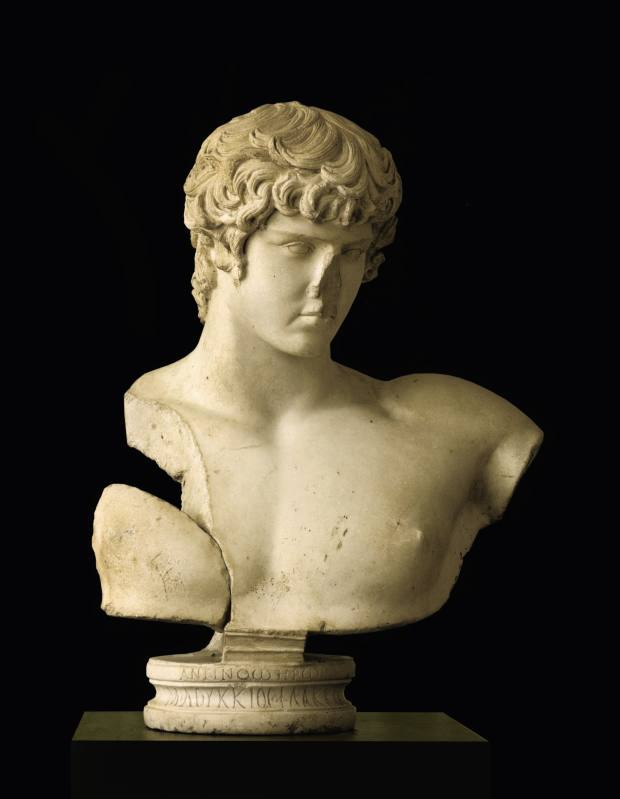 c130-138 AD Roman marble bust of Antinous, sold for more than $23,8m at Sotheby's New York in 2010