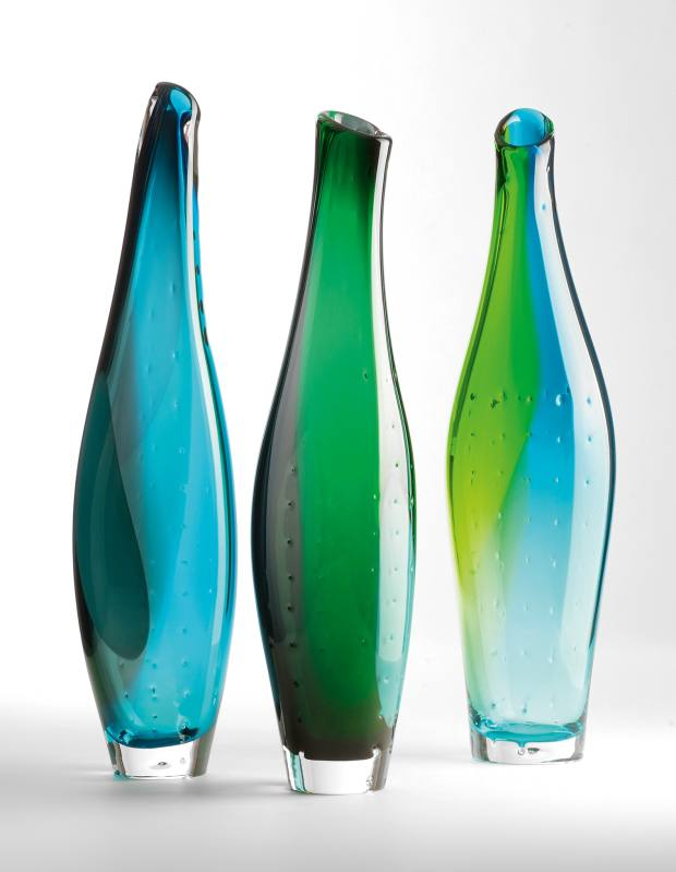 Freedom vases by Stewart Hearn, from £990 each