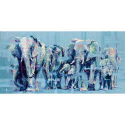 Elephant March by Hannah Shergold