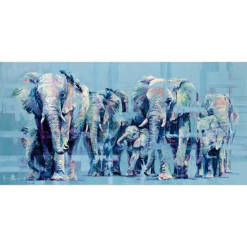 Elephant March by Hannah Shergold