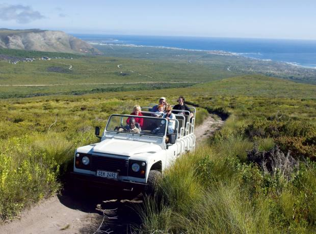 Grootbos Private Nature Reserve is 45 minutes by helicopter from Cape Town.