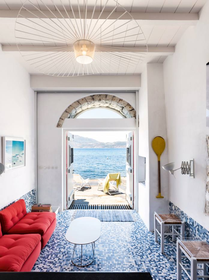 Five Star Greece's chic new syrma on Milos sleeps two
