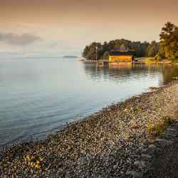 Lake Starnberg, one of the stops on Butterfield & Robinson's Bavarian cycle tour