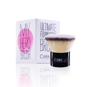 The My Hero brush (£25) for buffing liquid foundation onto the face