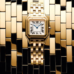 Cartier gold Panthère de Cartier watch, £19,400