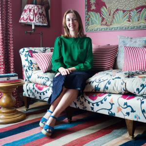 Lulu Lytle at home in London