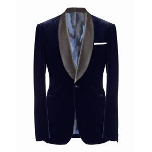 Casely-Hayford velvet Annabel's smoking jacket, £675
