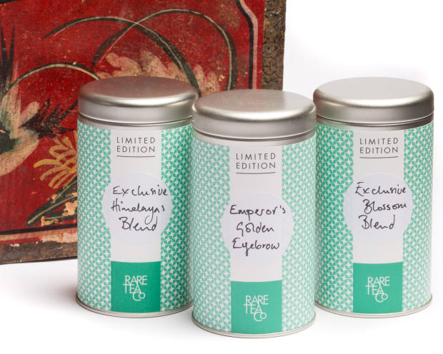 The Rare Tea Company's limited edition Tea Lady's Personal Collectionoffers rare teas at £495 for a six-month subscription