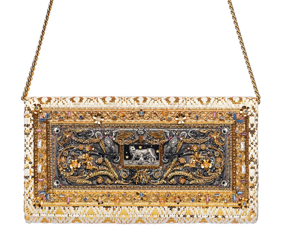 Preciously Paris cotton-mix #10 clutch, €4,375