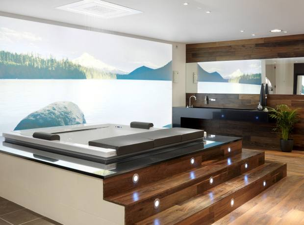 Teuco's Seaside bath, £16,900, from CP Hart.