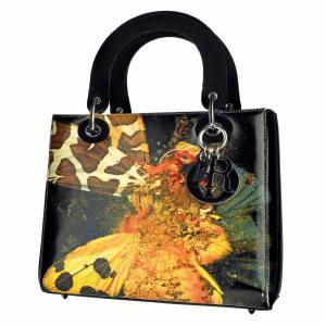 Dior x Mat Collishaw calfskin Lady Diorbag, £3,900