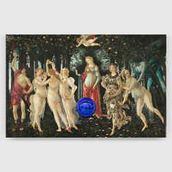 Jeff Koons' Gazing Ball (Botticelli Primavera), 2017-2020