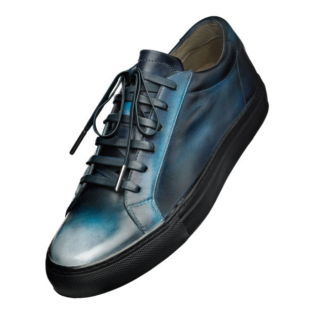Bespoke Patina by Lacour leather Zephir trainers, from £300