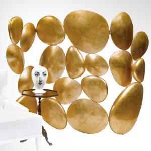 Boco do Lobo fibreglass and gold-leaf Gold screen, €13,900