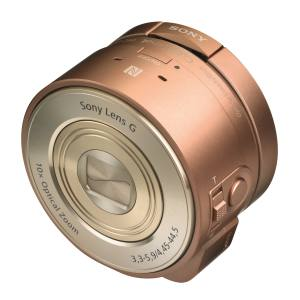Sony DSC-QX10 lens-style digital camera, £169. Also in other colours