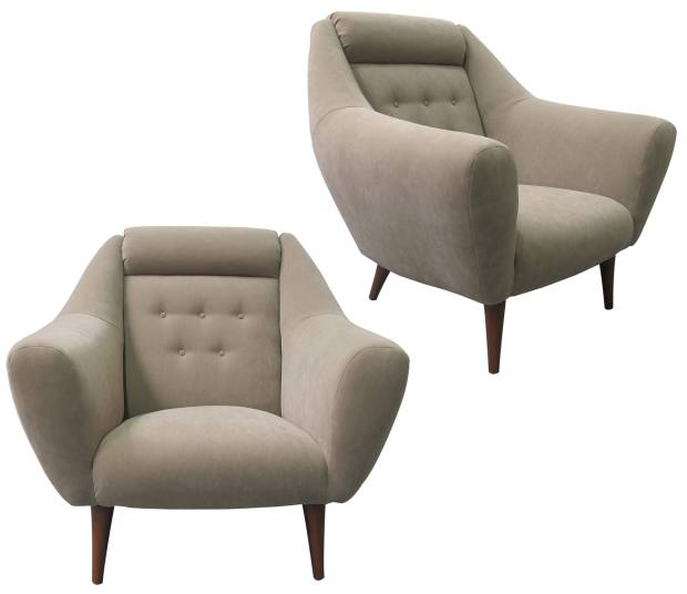 A pair of 1960s armchairs, price on request from Les Trois Garçons