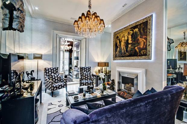 The five-bedroom Hanover Terrace property is available from £86,667 per month through Savills St John's Wood