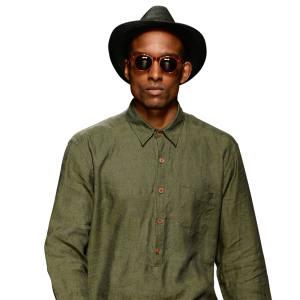 Oliver SpencerBarragan Shirt Opie Green £129 100% Linen
