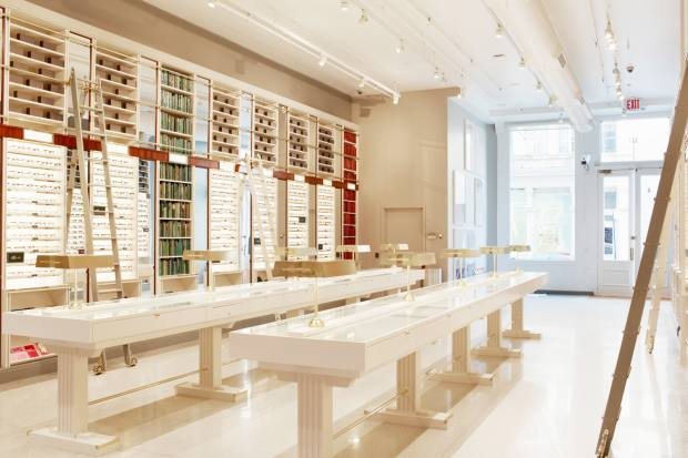Warby Parker in SoHo has set up an initiative to donate spectacles to children in need