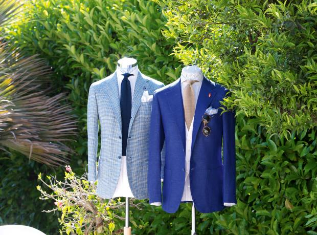 His suits, from €3,000