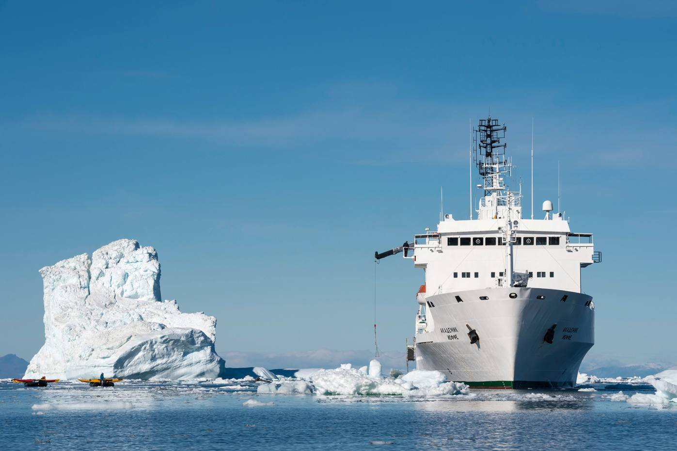 A 14-day Antarctica expedition aboard the Akademik Ioffe in November is led by photographers