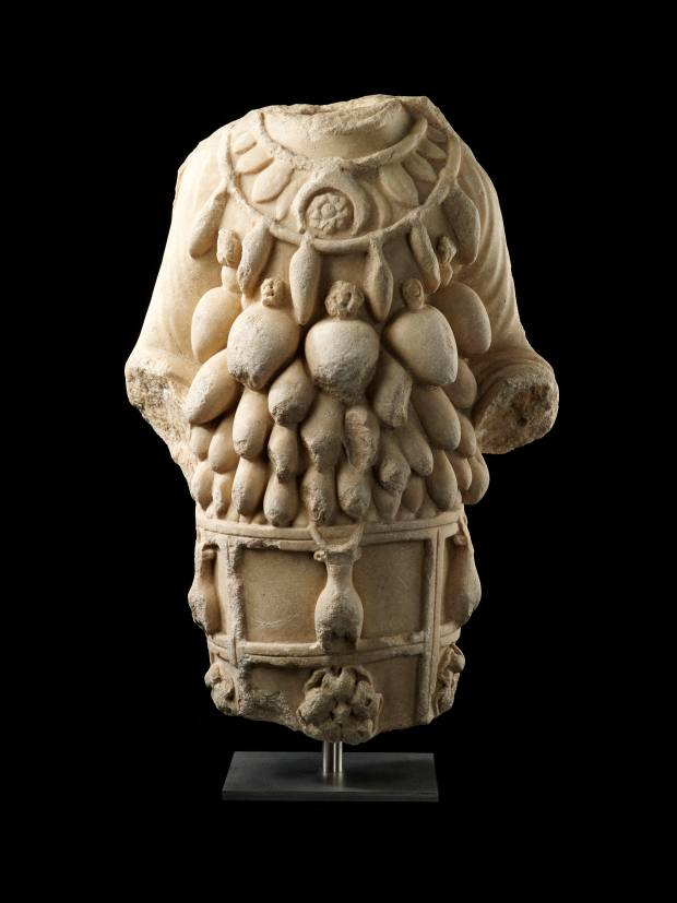 An original marble torso of Artemis from Ephesus (£280,000) dating from the 1st century AD