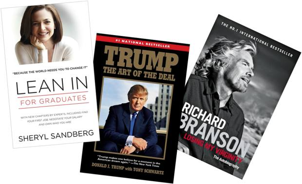 Neil Scovell produced Sheryl Sandberg's Lean In within a year. Tony Schwartz criticised Trump after ghosting The Art of the Deal for him. Edward Whitley took two years to shape Richard Branson's Losing My Virginity