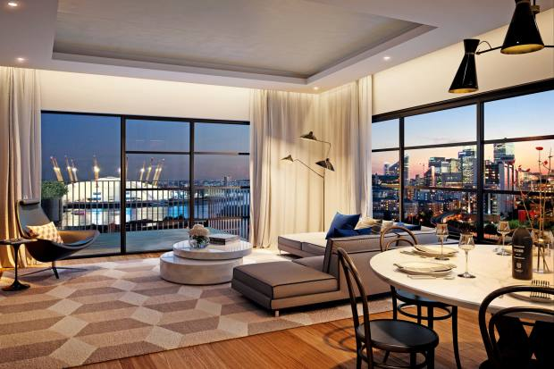 London City Island by EcoWorld Ballymore offers residences with open-plan living and elevated views of Canary Wharf, apartments from £420,000