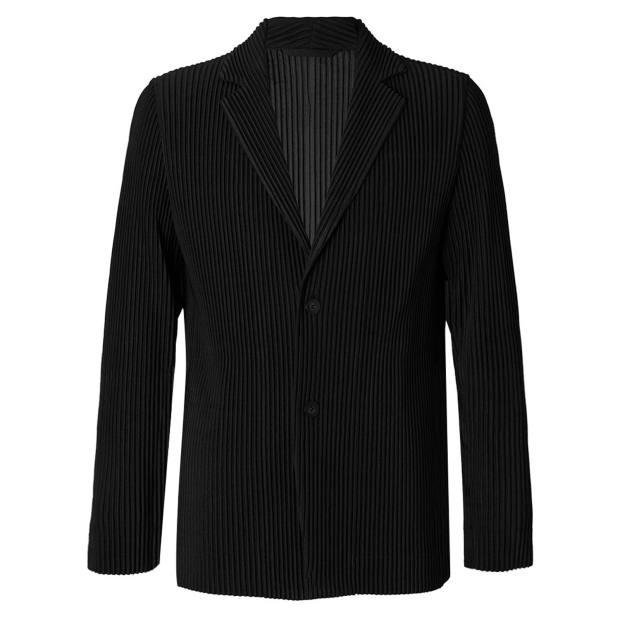 Homme Plissé Issey Miyake polyester pleated jacket, £455