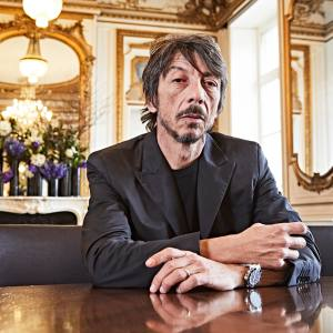 Valentino creative director Pierpaolo Piccioli at the maison's Place Vendôme office