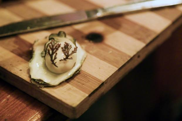 The oyster bar will offer a selection of Ireland's finest Dooncastle oysters and oysters cooked over embers with pickled seaweed