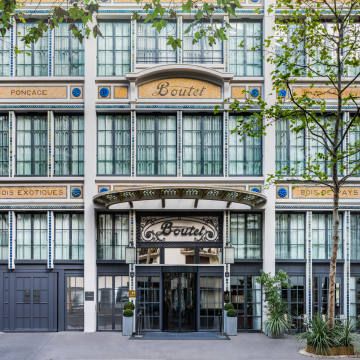The art-deco Hôtel Paris Bastille Boutet, in the heart of Faubourg Saint-Antoine