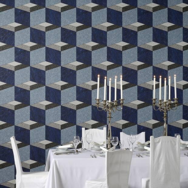 Maison Martin Margiela for Omexco La Mosaïque wallpaper, £40 per m
