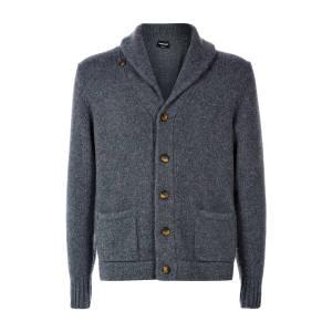 Cashmere mélange shawl-collar cardigan, £2,025
