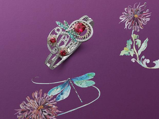 Boodles Wonderland: Always a Story- Dragonfly & Dahlia