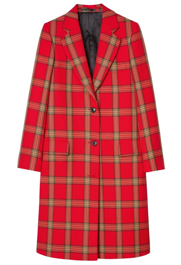 Paul Smith coat, £780: 100 per cent recycled plastic bottles
