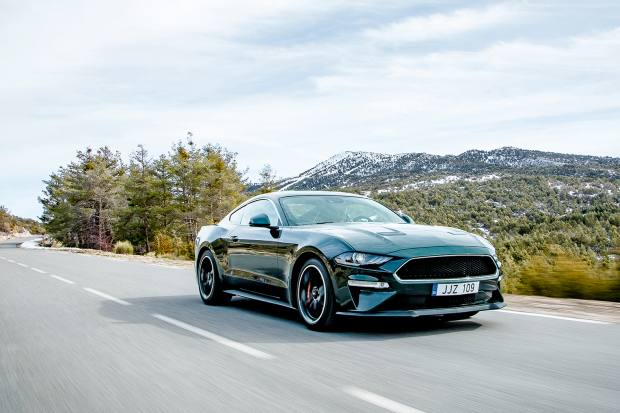 The special edition 163mph Mustang Bullitt marks the50th anniversary of thecult film