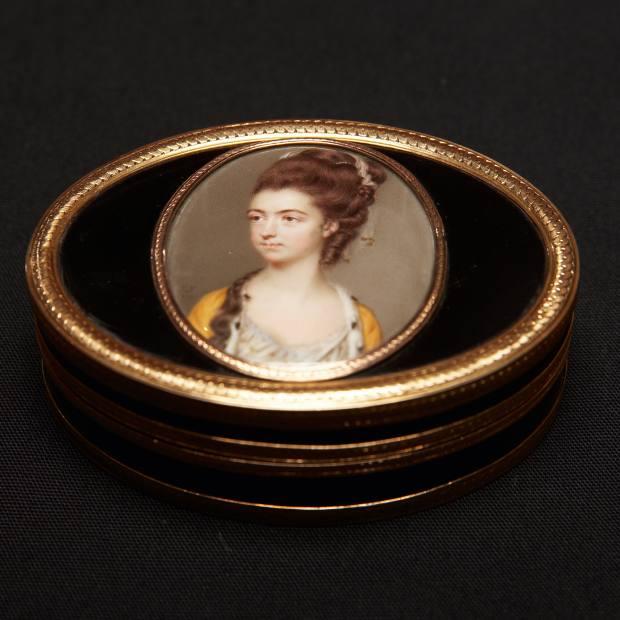 A portrait of Ann Hurlock by John Smart, 1777