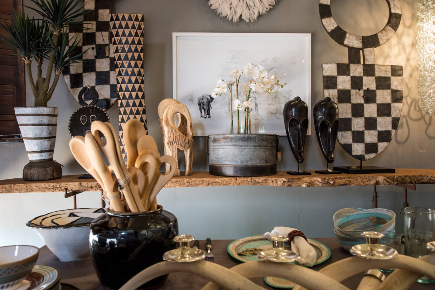 The Singita Boutique & Gallery website showcases the exquisite design products also sold at the safari brand's properties