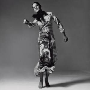 Ali MacGraw wearing a Mr Dino maxi in US Vogue, 1970