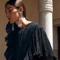 Tatiana Verstraeten white-gold, diamond and pearl PearlPearl Rain earrings, €23,000