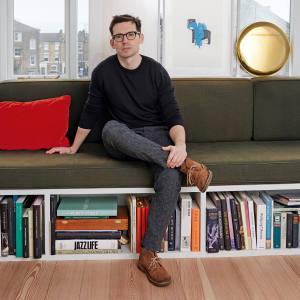 Erdem Moralioglu at home in London