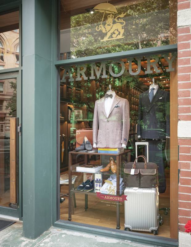 The Armoury in New York features jackets by cult Japanese brand Ring Jacket